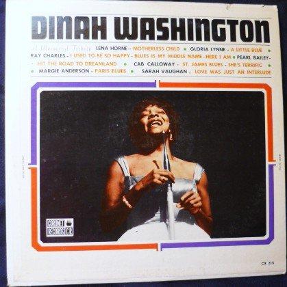 Dinah Washington - A Memorial Tribute to Various Artists lp cs 215