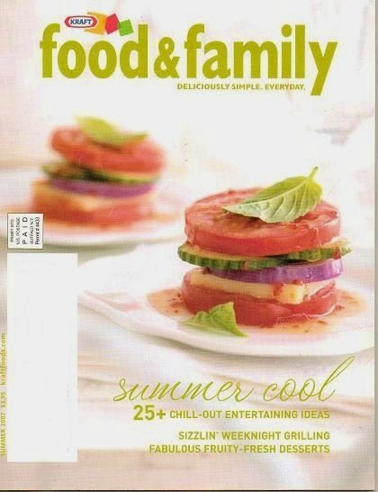 Kraft Food and Family Magazine Summer 2007