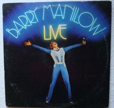 Barry Manilow Live 1977 lp Double Album al 8500 NM-