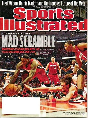 Sports Illustrated - Unread - May 30 2011 Conference Finals Fred Wilpon Bernie Madoff