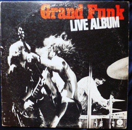 Grand Funk Live Album - Double lp swbb-633