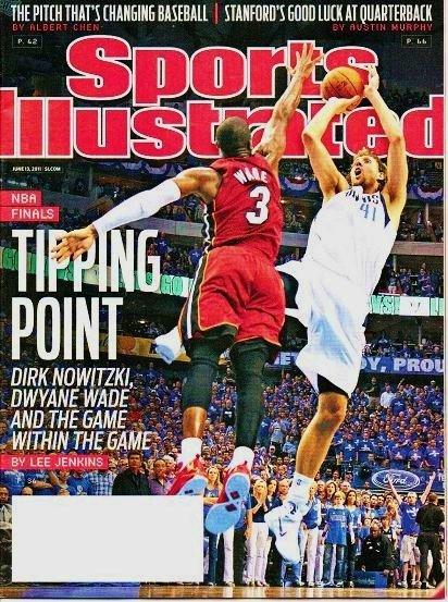 Sports Illustrated - Unread - June 13 2011 NBA Finals-Dirk Nowitzki Dwyane Wade