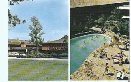 Unused Postcard of Talisman Motor Inn, Ottawa, Canada 1950/60s
