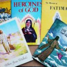 Five Religious Books for Children - Stories of Jesus Fatima God etc