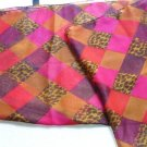 Elegant Scarf Earthy Animal Print Scarf Shawl Made in India