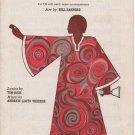 Any Dream Will Do satb Novello Sheet Music Arranged by Bill Sanford - 1971
