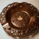 Vintage Montreal Souvenir Copper Ashtray Marked Japan
