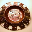 1967 Montreal Worlds Fair Expo Souvenir Copper Dish Cachall Marked Japan