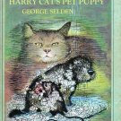 Harry Cats Pet Puppy - George Selden 1976 Paperback