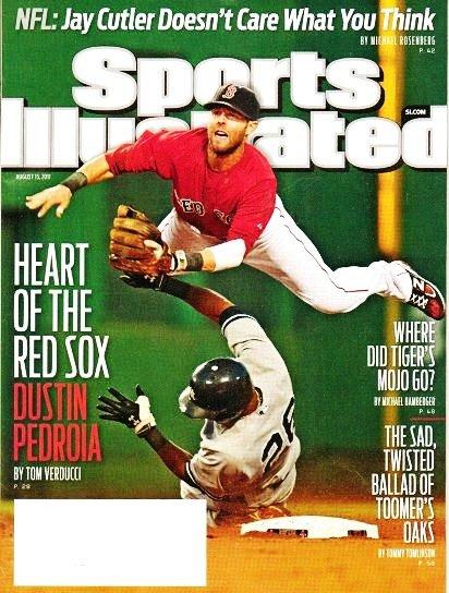 Sports Illustrated - Unread - August 15 2011 - Dustin Pedroia-Boston Red Sox