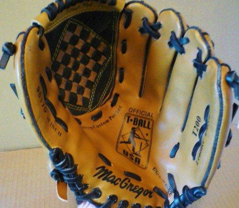MacGregor T-Ball Mitt Glove 10 Inch Model 95170 RH FlexWedge