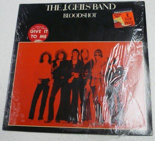 Bloodshot lp - The J Geils Band sd7260
