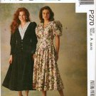 Uncut McCalls P270 Dress Pattern Misses Sz 6-10