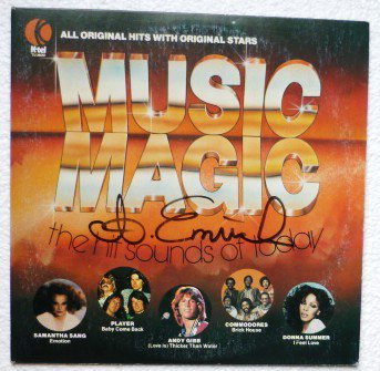 K-tel Music Magic lp The Hit Sounds of Today - Various Artists 1978 tu2600