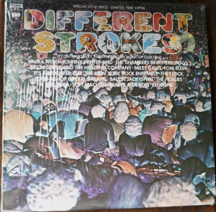 Different Strokes lp - Various Artists - as 12