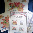 1997 Daisy Kingdom Iron-On Transfers 11x14 Set of Three Sheets