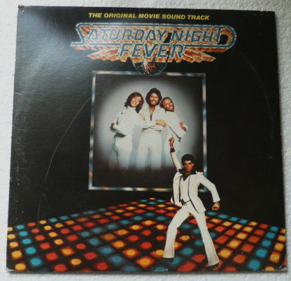 Saturday Night Fever lp - Original Movie Sound Track - Bee Gees RS-2-4001 - 2 lps