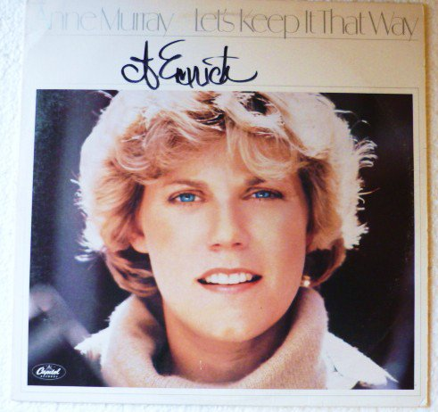 Lets Keep It That Way lp by Anne Murray st11743