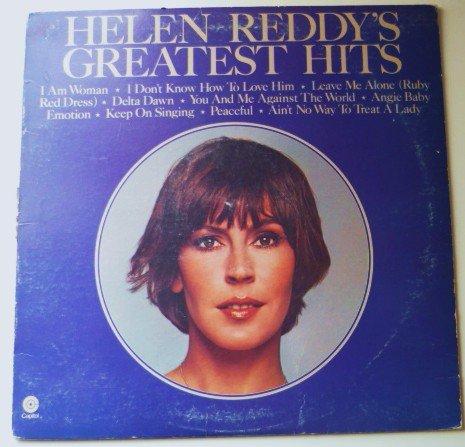 Greatest Hits - Helen Reddy 1975 lp st-11467 - vg