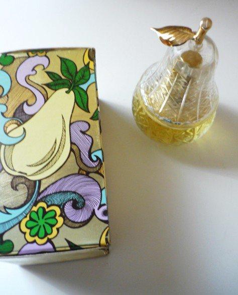 NIB Vintage Avon Pear Lumiere Charisma Cologne 2 Oz - Full