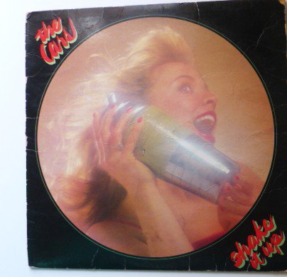 Shake it Up lp - the Cars se 567