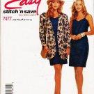 McCalls Uncut Pattern 7477 Misses Jacket and Dress Szs 6-12