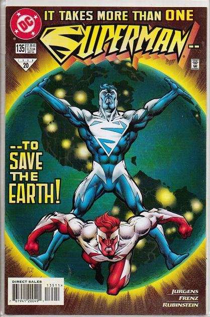 Superman Comic Book DC 135 - 1998 No. 20 Minty