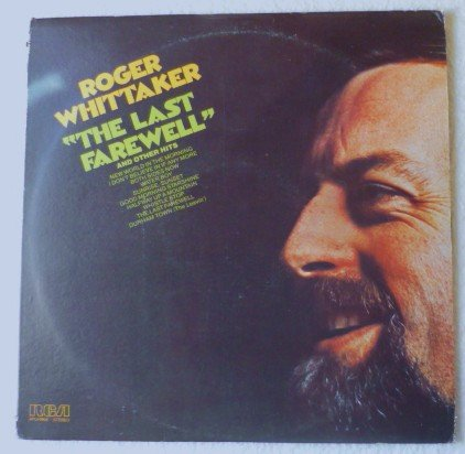 The Last Farewell lp by Roger Whittaker apl-0855 NM-