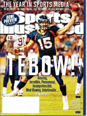 Sports Illustrated Mag - Unread - December 19 2011 - Tim Tebow, Best of 2011