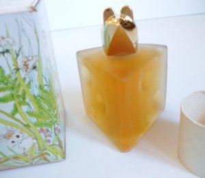 Avon Swiss Mouse - Field Flowers Cologne - Vintage NIB - Full 3 Ounces