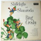 Shillelaghs and Shamrocks lp - Bing Crosby dl8207 Irish Songs