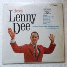 Heres Lenny Dee lp by Lenny Dee Organ Solos vl 73782