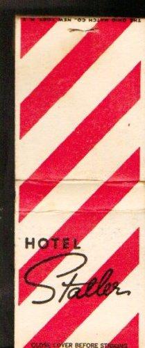 Hotel Statler Matchbook Cover - Vintage - Match book