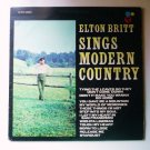 Elton Britt Sings Modern Country cs7010 lp