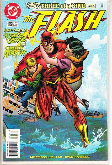 Three of a Kind The Flash Comic Book 135 DC NM - March 1998