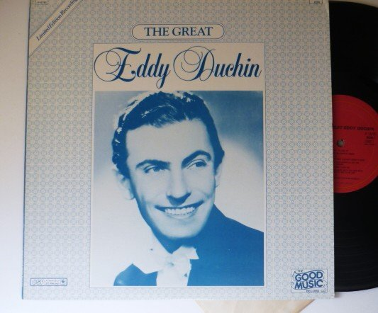 The Great Eddy Duchin Record Album cbs P16785 One Owner Limited Ed