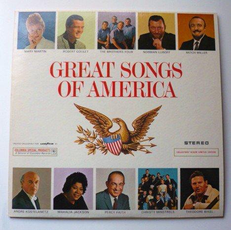 Great Songs of America lp csp 133 Columbia One Owner