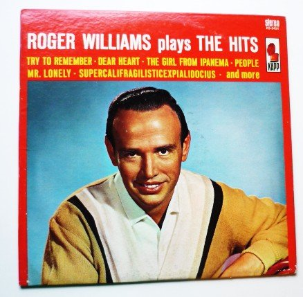 Roger Williams Plays the Hits lp ks3414