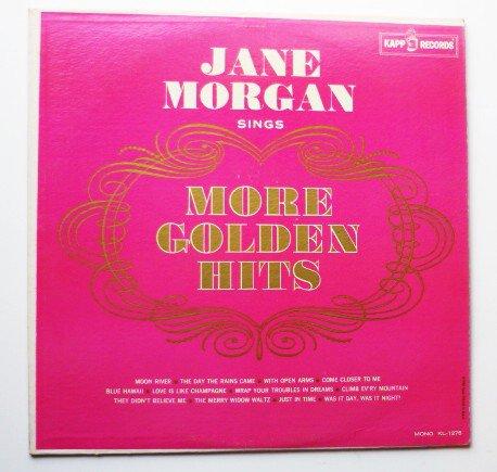 Jane Morgan: Sings More Golden Hits lp KL-1275