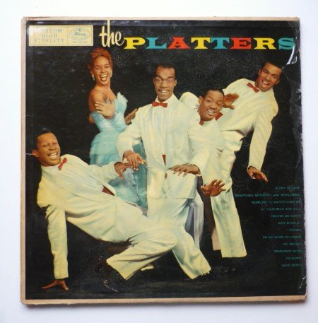 The Platters By The Platters Lp Mg 20146