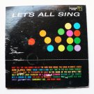 Lets All Sing lp - Various Songs - Treasure Record tlp-836