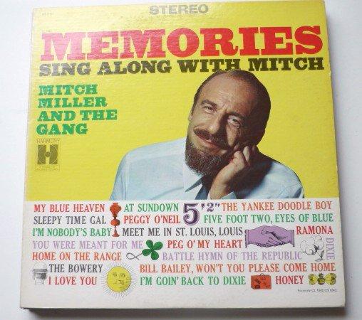 Memories Sing Along With Mitch lp - Mitch Miller hs11242