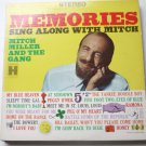 Memories Sing Along With Mitch lp - Mitch Miller hs11242