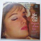 Nat King Cole - The Touch Of Your Lips lp SW 1574 Capitol Left Side