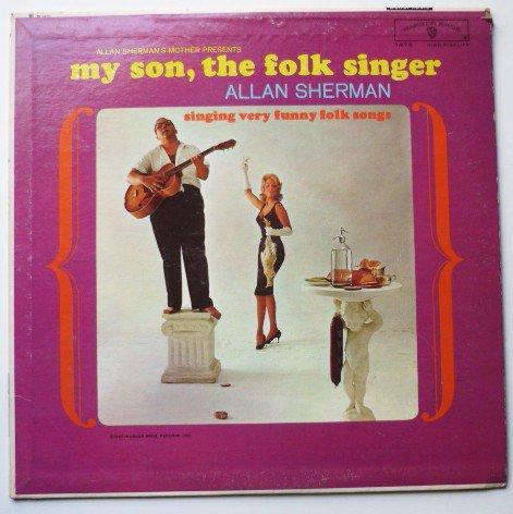 Allan Sherman : My Son The Folk Singer - Comedy lp 1475