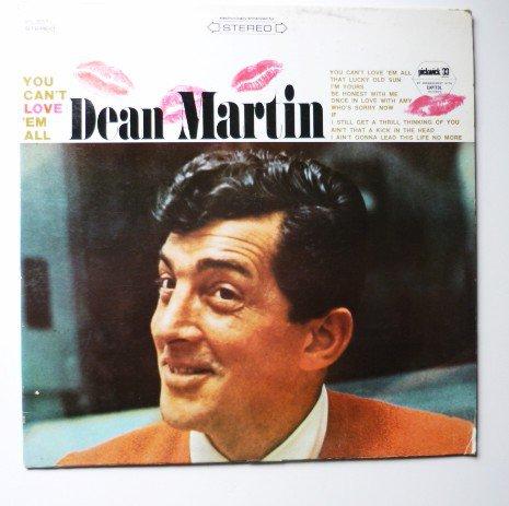 You Cant Love Em All - Dean Martin lp spc3057