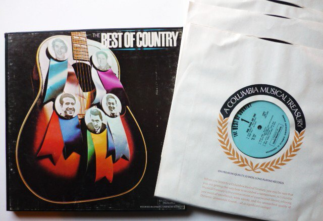 The Best of Country - 4 lp Boxed Set - Various Artists p4s5062