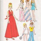 11.5 Inch Fashion Doll Clothes Vintage 1974 Simplicity Pattern 6697