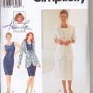 Simplicity Uncut Pattern 9336 Dress and Jacket Kathy Lee Collection Szs 6-8-10