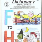 The Charlie Brown Dictionary Volume 3 F to H - Charles M Schulz
